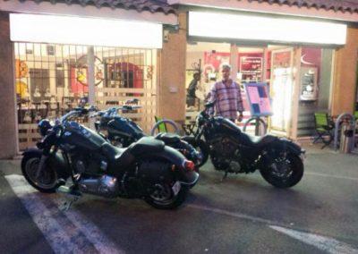 Les bikers aiment les crêpes Bretonnes